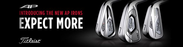 Expect More - Titleist 718 AP Irons